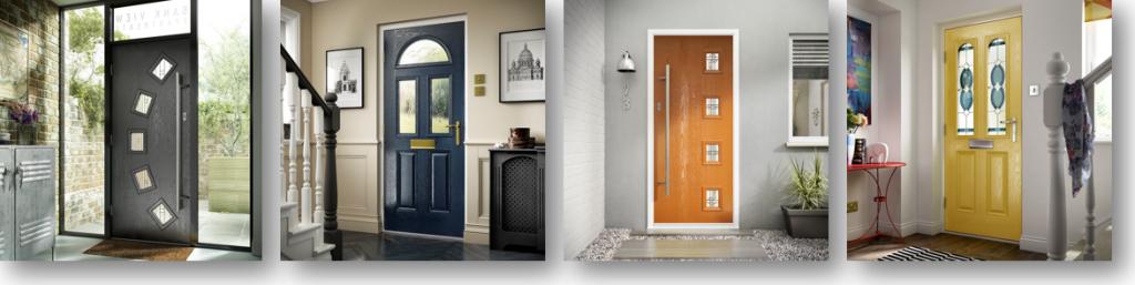 composite door examples